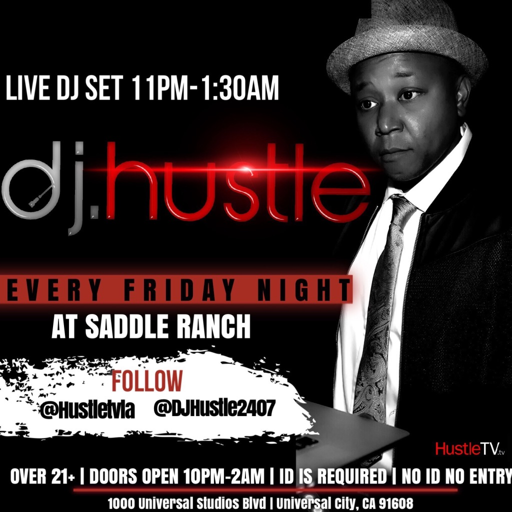 DJ Hustle Universal Studios Hollywood Saddle Ranch