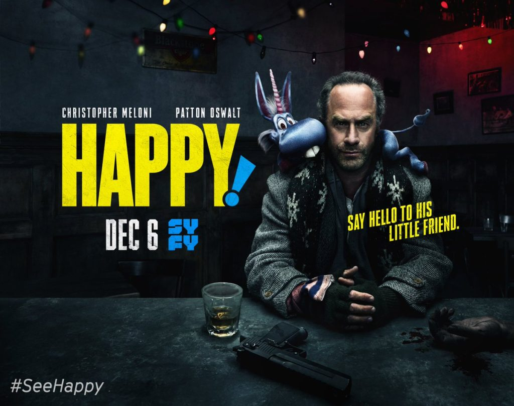 HAPPY THE #1 MOST WATCHED SHOW ON SYFY AND WHY YOUR GONNA LOVE IT !
