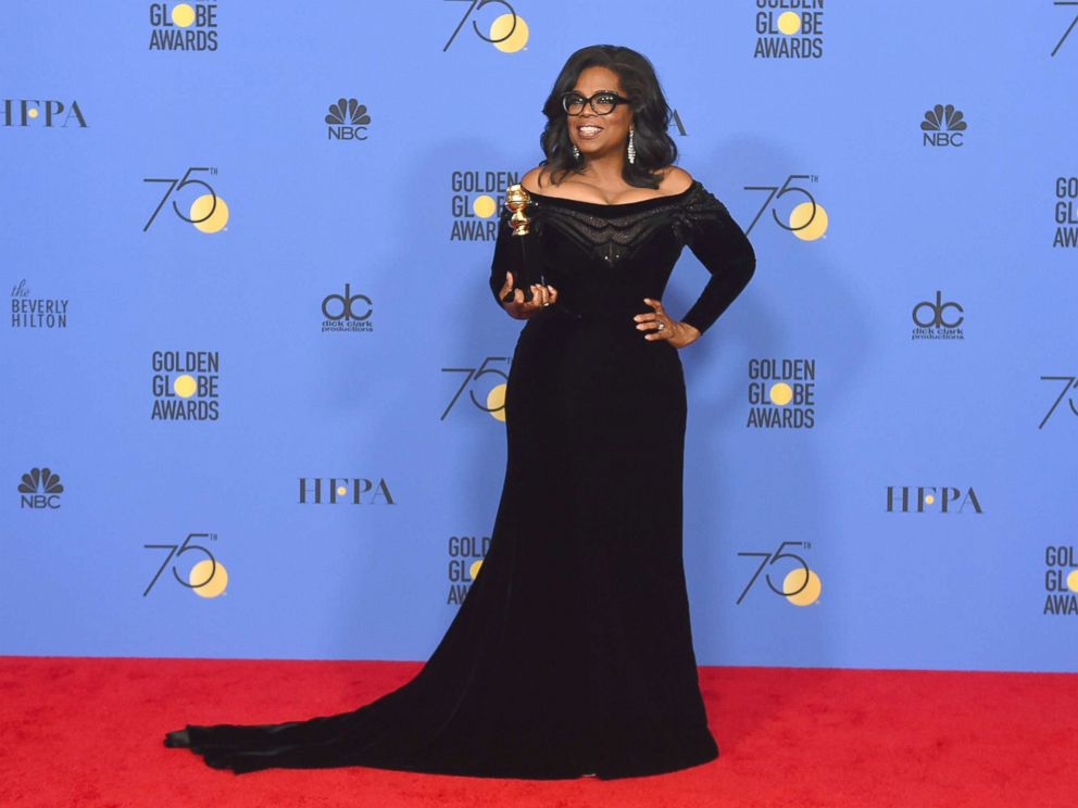 DID OPRAH STEAL THE SHOW AT THE GOLDEN GLOBES?